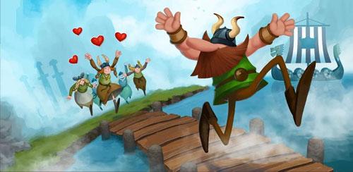 دانلود بازی Vikings in Love v1.2.3 برای اندروید