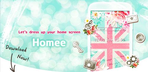 دانلود نرم افزار Homee Launcher 1.2.56 برای اندرویید