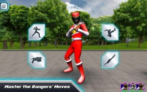 تصویر محیط Power Rangers Dino Charge v1.4.0