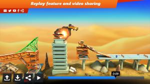 تصویر محیط Bridge Constructor Stunts v3.0