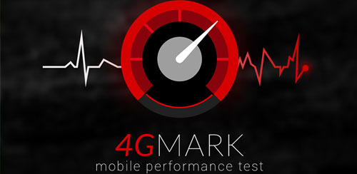 نرم افزار تست سرعت شبکه 4Gmark (3G / 4G speed test) v2.1