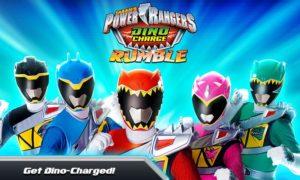 تصویر محیط Power Rangers Dino Charge v1.4.0