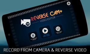 تصویر محیط Reverse Cam Video Editor v1.4