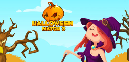 Halloween Candy Jewel: Match 3 v1.1