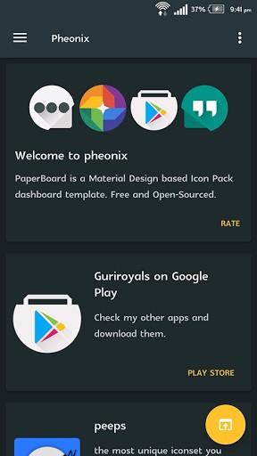 Pheonix – iconpack v1.5.b15