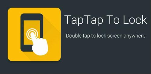 نرم افزار قفل صفحه تپ تپ TapTap To Lock Screen 1.0.1