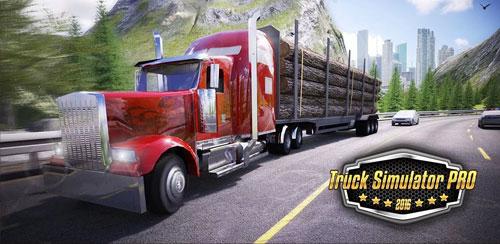 بازی شبیه ساز کامیون Truck Simulator PRO 2016 v1.5