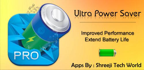 نرم افزار بهینه ساز باطری Ultra Power Saver Pro v1.12