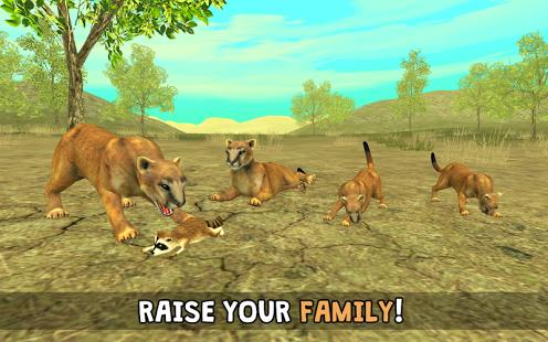 Wild Cougar Sim 3D 1.2