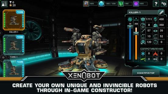 Xenobot. Battle robots. 0.145b + data