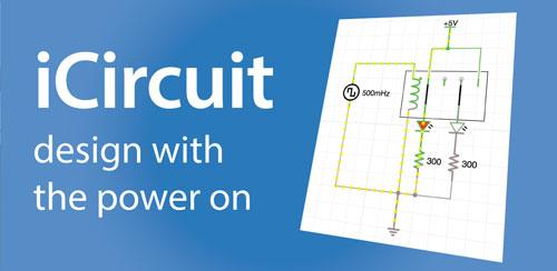 نرم افزار طراحی مدار iCircuit v1.8
