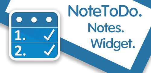 NoteToDo. Notes. To do list v1.4.292-89