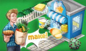 تصویر محیط Chef Town: Cooking Simulation v8.8