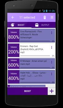 MP3 VOLUME BOOST GAIN LOUD PRO v4.7