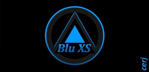 تم آبی سیانوژن Blu XS CM12 Theme v0.3.7