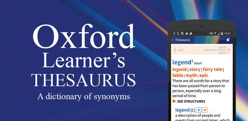 Oxford Learner's Thesaurus v1.0.6.0