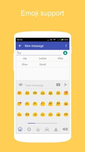 KK SMS (Marshmallow style SMS) PRIME v2.95