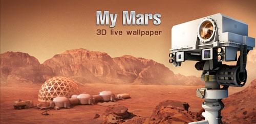 دانلود والپیپر لایو مریخ My Mars (3D Live Wallpaper) v1.3