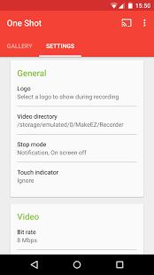 One Shot screen recorder (PRO) v1.2.10