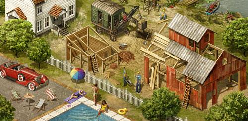 بازی شبیه ساز کشاورزی From Farm to City: Dynasty v1.16.1