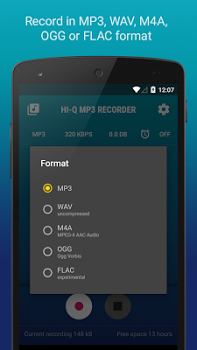 Hi-Q MP3 Voice Recorder (Pro) w/ Dropbox & G Drive v2.3-b3