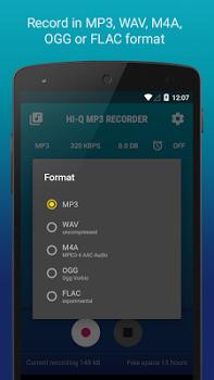 Hi-Q MP3 Voice Recorder (Pro) w/ Dropbox & G Drive v2.3-b1