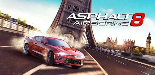 دانلود بازی آسفالت هشت - هوابرد Asphalt 8: Airborne v2.9.h