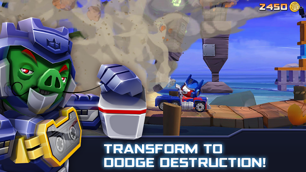 Angry Birds Transformers v1.21.4 + data