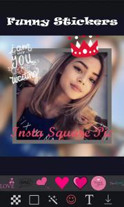 تصویر محیط Insta Square Size- No Crop v1.7