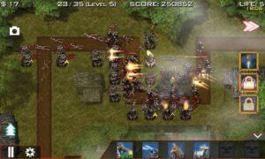 تصویر محیط Global Defense: Zombie War v1.5.9