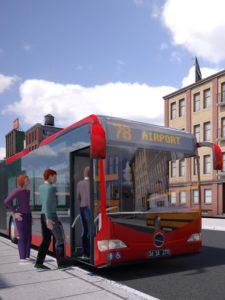 تصویر محیط Bus Simulator PRO 2016 v1.0