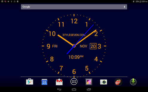 Analog Clock LiveWallpaper7PRO v2.0
