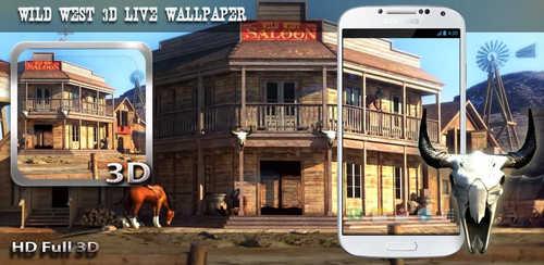 Wild West 3D Live Wallpaper v1.0
