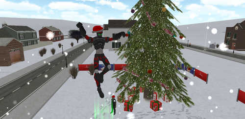Christmas Rope Hero v1.0