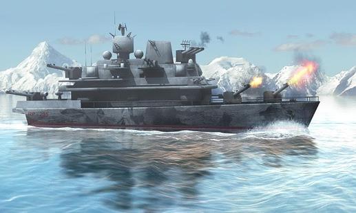 Naval Fury: Warship 3D v1.1