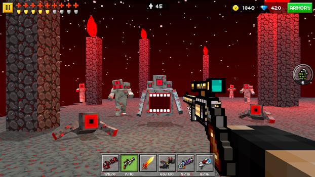 Pixel Gun 3D (Pocket Edition) v11.1.1 + data