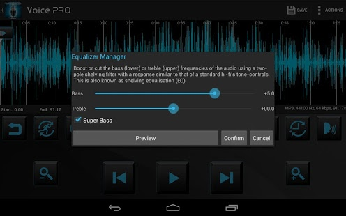 Voice PRO – HQ Audio Editor v3.3.23