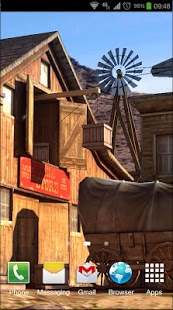 Wild West 3D Live Wallpaper v1.0