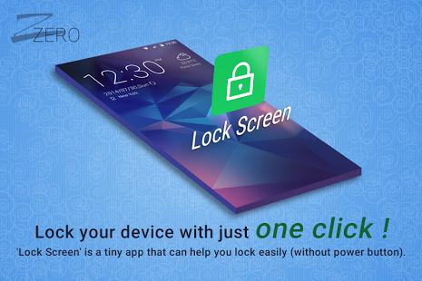 ZERO Lock Screen v1.3
