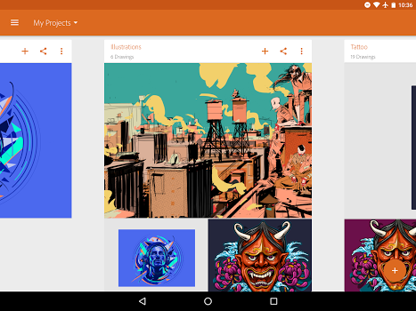 Adobe Illustrator Draw v3.5.1