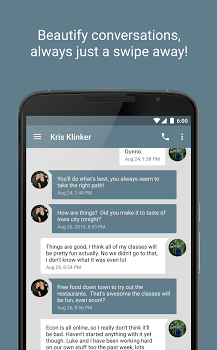 EvolveSMS (Text Messaging) v5.1.8f