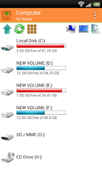 WiFi PC File Explorer Pro v1.5.26