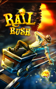 تصویر محیط Rail Rush v1.9.18