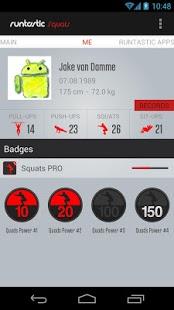 Runtastic Squats Workout PRO v1.13