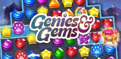 Genies & Gems – Jewel & Gem Matching Adventure v62.30.100.12011832