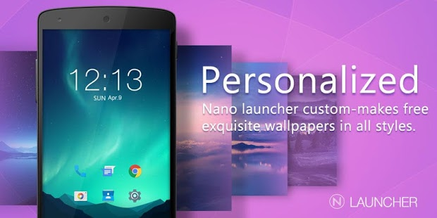 Nano Launcher + Notification Plugin v2.0.6