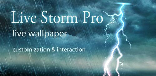 دانلود والپیر زنده طوفان Live Storm Pro Wallpaper