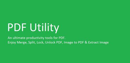 PDF Utility – PDF Tools – PDF Reader v1.3.8