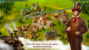 تصویر محیط Transport Empire: Steam Tycoon v3.0.30