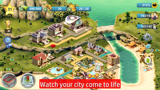 City Island 4 – Sim Town Tycoon: Expand the Skyline v1.9.8